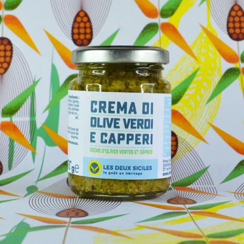 """""""creme d'olives vertes et câpres"""""""