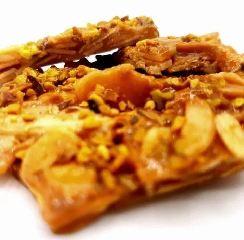 croccante pistacchio e mandorla