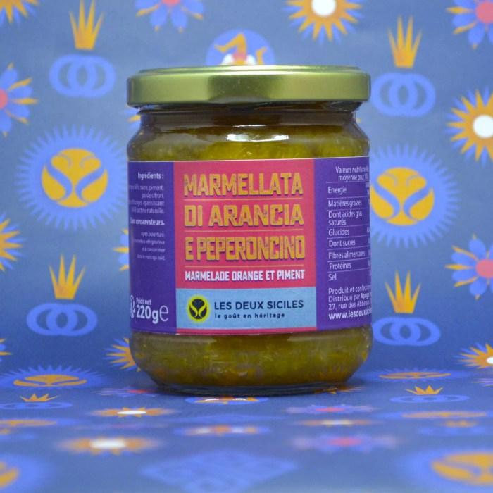 marmelade d'orange et piment
