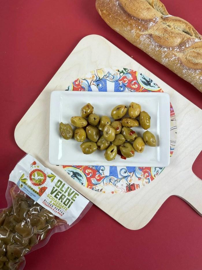 olives vue d'ensemble