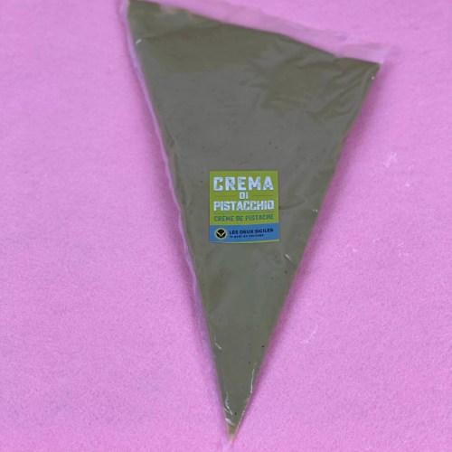 sac à poche pistache 300 gr rose