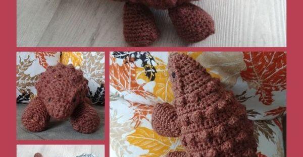 épingle pinterest amigurumi ankylosaure