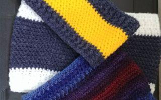 épingle pinterest crochet snood herringbone