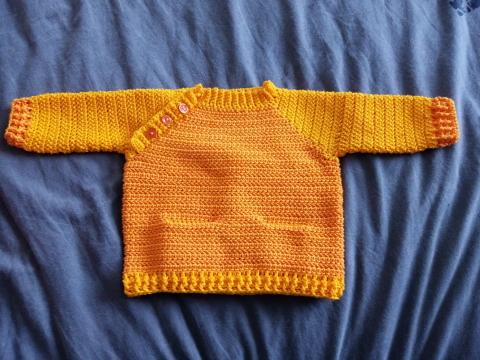 pull bébé au crochet