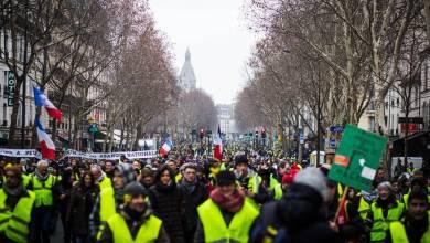 Photo de «Gilets jaunes»: la mobilisation reprend malgré les dissensions