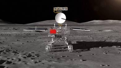 Photo de La Chine effectue Le premier atterrissage dans l'histoire de l'autre côté de la lune