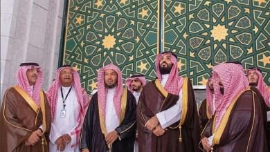 Photo de Les images de MBS en haut de la Kaaba choquent les internautes