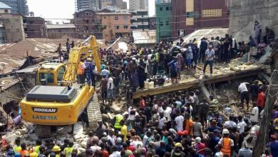 Photo de Nigeria. 20 morts après l'effondrement d'un immeuble à Lagos