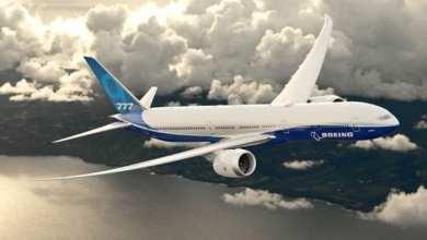 Photo de Lancement du 777X.Boeingfait marche arrière