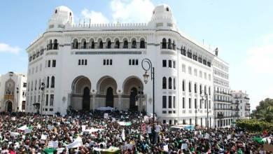 Photo de Algérie. Foule immense dans les rues du centre d'Alger