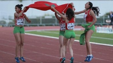 Photo de Championnats arabes d'athlétisme. Le Maroc en 2e place