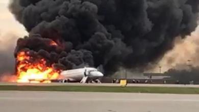 Photo de 41 morts après l'atterrissage d'urgence d'un avion à Moscou