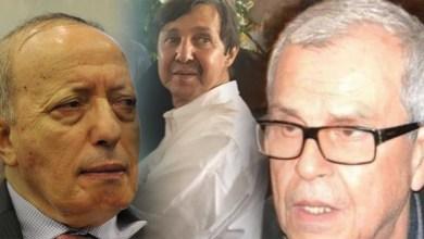 Photo de Algérie. Incarcération du frère de Bouteflika et de deux ex-patrons du renseignement