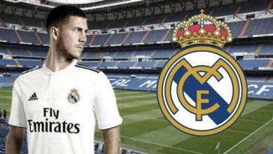 Photo de Eden Hazard signe officiellement avec le Real Madrid