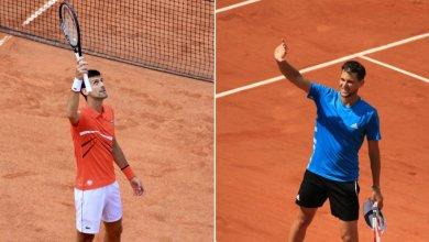 Photo de Roland-Garros. La fin de la demi Djokovic-Thiem reportée à samedi