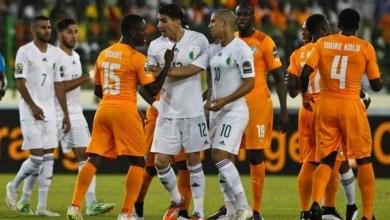 Photo de Algérie-Côte d'Ivoire. Choc de titans