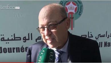 Photo de Clubs de football. Le président de la Commission de gestion et de contrôle de la FRMF explique le processus de transformation en SA