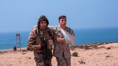 Photo de Exercice militaire conjoint des forces spéciales des FAR et les US Marines