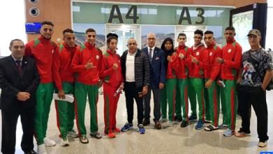 Photo de Le Maroc au Championnat arabe de muay-thaï à Abou Dhabi