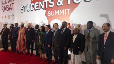 Photo de Inauguration du Sommet des étudiants africains en présence de ministres africains des Affaires étrangères