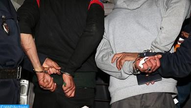 Photo de DGSN. Démantèlement d'un trafic international de drogue à Bni Drar et Berkane