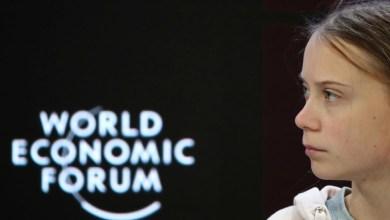 Photo de Greta Thunberg: le climat a été «complètement ignoré» à Davos