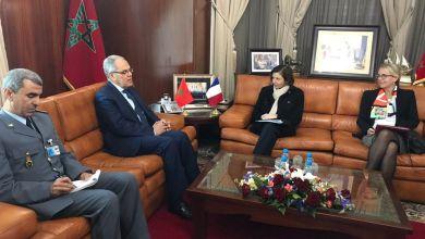 Photo de Louarak et Loudyi reçoivent la ministre française des Armées