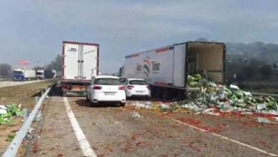 Photo de Camions marocains saccagés en Espagne… La FIFEL s'insurge (Audio)