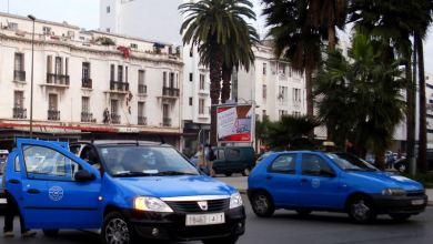 Photo de Plus chers, les petits taxis à Rabat !