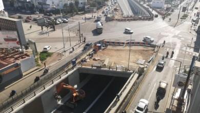 Photo de Tramway de Casablanca. La trémie Ghandi opérationnelle demain