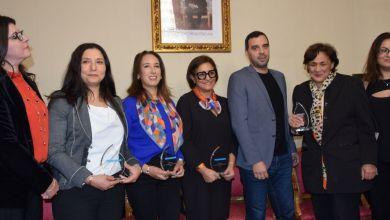 Photo de Cinq Marocaines de France distinguées par TV5