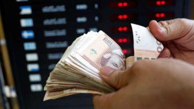 Photo de Cours de change : devises étrangères contre le dirham