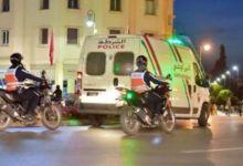 Photo de DGSN: opération sécuritaire à l'Agdal, au centre de Rabat