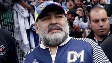 Photo de Diego Maradona, légende du football, n'est plus