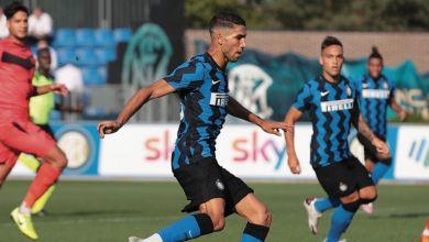 Photo de Inter de Milan : Hakimi, bellissimo !