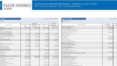 Photo de Euler Hermes ACMAR: Bilan du 1er semestre 2020