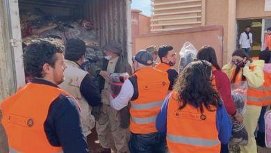 Photo de Moyen Atlas : une caravane humanitaire au profit de 220 familles