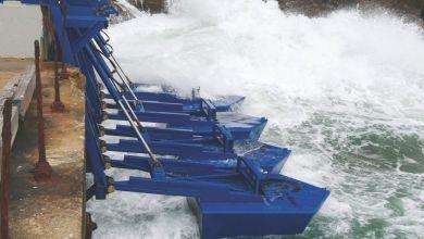 """Photo de Énergie houlomotrice : le pari """"fou"""", mais réussi d'Eco Wave Power"""