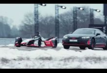 Photo de Audi e-tron GT Vs Formule E, avec Nico Rosberg (VIDEO)