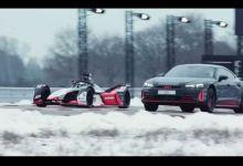 Photo de Audi e-tron GT Vs Formule E, avec Nico Rosberg (VIDEO)