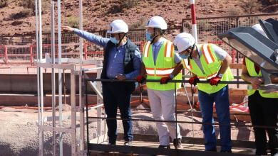 Photo de Energie : le chantier de la STEP Abdelmoumen avance bien