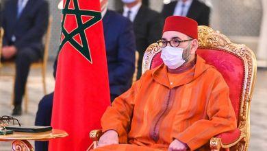 Photo de Le roi Mohammed VI félicite la présidente géorgienne