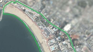 Photo de Agadir : lifting des voiries dans la zone balnéaire