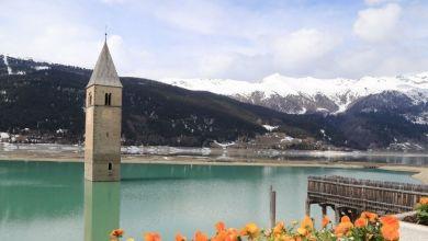 Photo de Italie : un village refait surface après 70 ans  sous l'eau