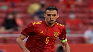 Photo de Sergio Busquets quitte le groupe de la sélection espagnole