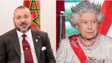 Photo de Le message du roi Mohammed VI à la reine Elizabeth II