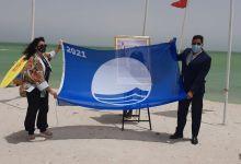 Photo de L'ONEE-BE et ses partenaires hissent le Pavillon Bleu international aux plages de Dakhla
