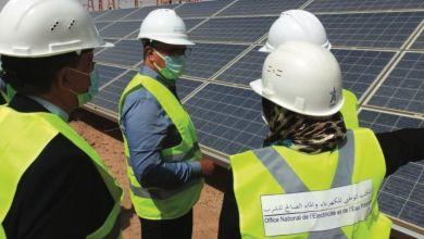 Photo de Énergie solaire : la centrale d'Erfoud accroît sa capacité de production
