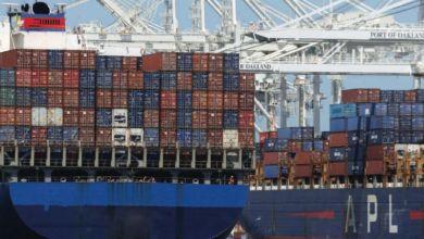 Photo de Transport maritime : les embouteillages de conteneurs vont durer encore 6 à 9 mois