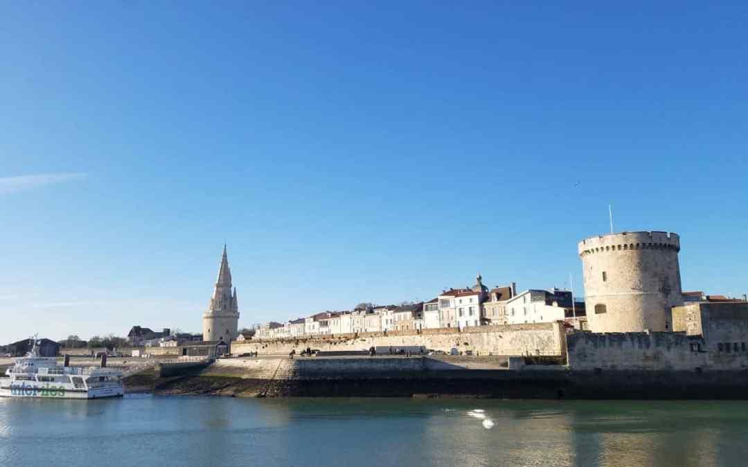 Le Vieux Port de la Rochelle et son parking